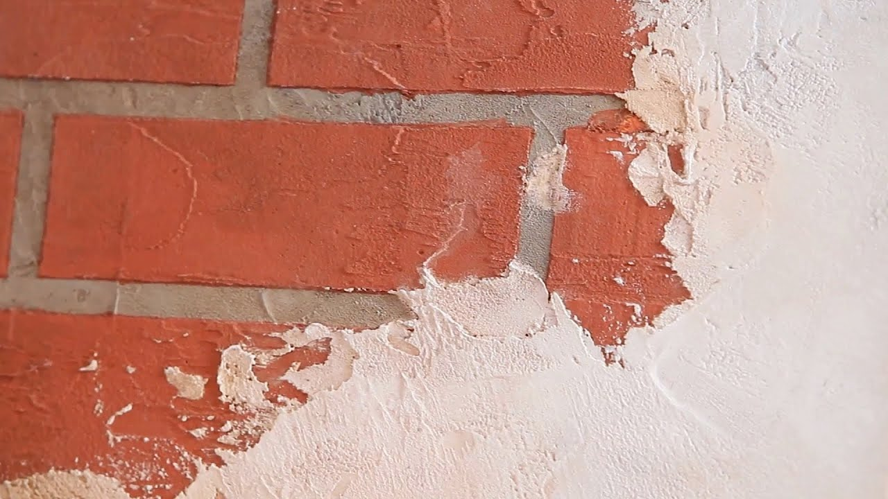Paint a wall to look like brick tile paint techniques A wall painting