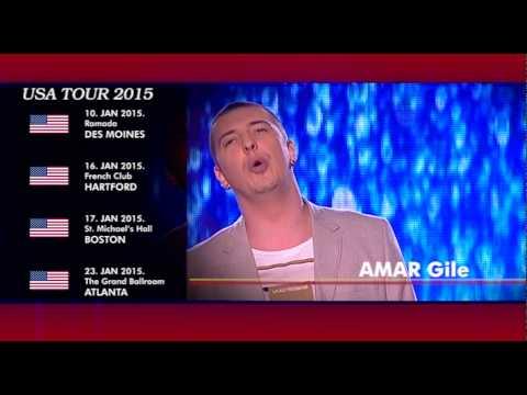 Amar Gile - Turneja 2015 - USA