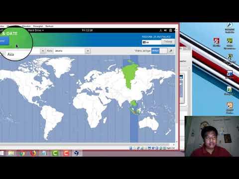Muhammad Maulana Ghani | 16630060 | Tutorial Menginstall Linux Fedora menggunakan virtual box