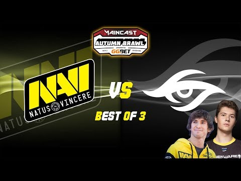 [DOTA2] NAVI vs SECRET (BO3) - MAINCAST AUTUMN BRAWL @Live in 1440p60