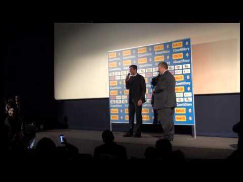 Zanetti Story: il capitano dell'Inter all'anteprima del film