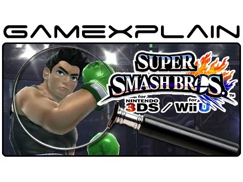 Super Smash Bros. Analysis: Little Mac Trailer (Secrets & Hidden Details - Wii U & 3DS)