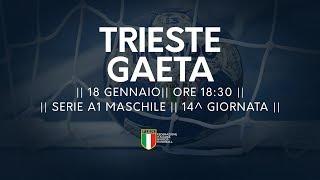 Serie A1M [14^]: Trieste - Gaeta 30-22