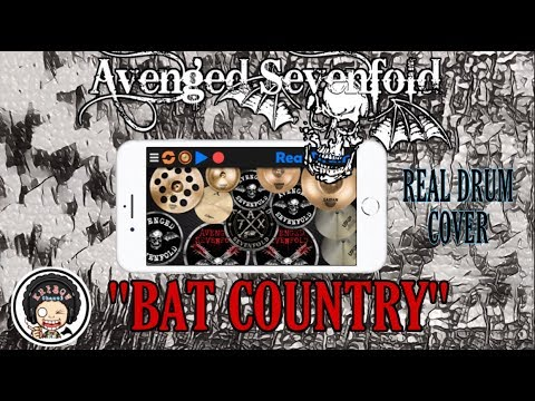 Avenged Sevenfold - Bat country  (real drum cover)