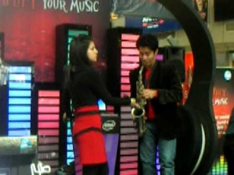 bakhuda tumhi ho on alto saxophone