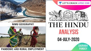 04-July-2020 | The Hindu Newspaper Analysis | Current Affairs for UPSC CSE/IAS | Saurabh Pandey
