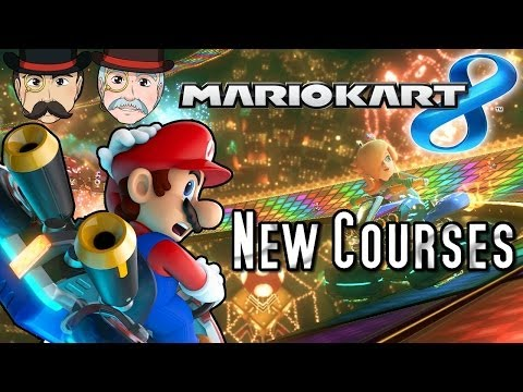 Mario Kart 8 NEW COURSES - Rainbow Road, Bowser's Castle, Sunshine Airport & More!