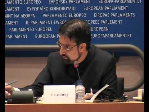 Mirwaiz Umar Farooq about Kashmir Centre EU in Brussels