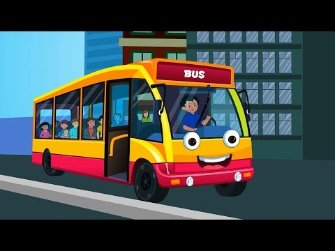 Wheels On The Bus   Nursery Rhymes For Kids