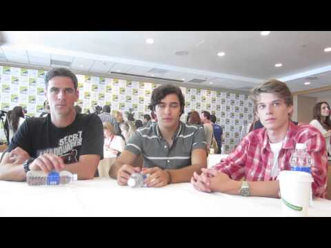 Under the Dome's Eddie Cahill, Alexander Koch & Colin Ford