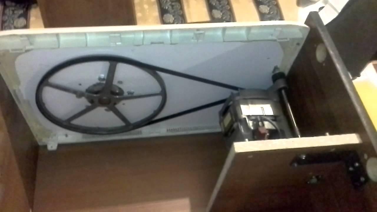 Гончарный круг своими руками из стиральной машины