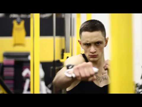 Pro Boxer Mike McWilliams Strength Training Image 1