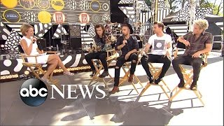 One Direction Drag Me Down Post Concert Interview