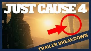 Just Cause 4: Gameplay Trailer Official Breakdown Analysis