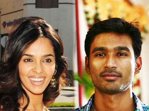Dhanush & Mallika wins the Race