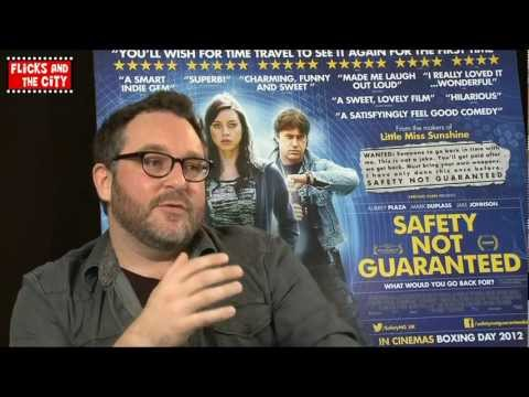 Safety Not Guaranteed, Star Wars Episodes 7 8 & 9, Flight of Navigator - Colin Trevorrow Interview