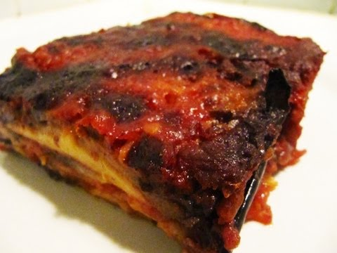 How to make the original Eggplant Parmesan (Italian Eggplant Parmigiana/ Parmigiana di Melanzane)