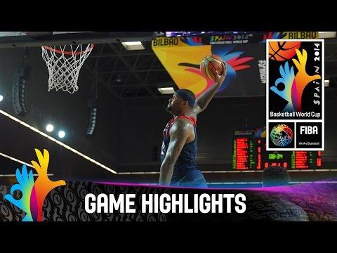 Dominican Republic v USA - Game Highlights - Group C - 2014 FIBA Basketball World Cup