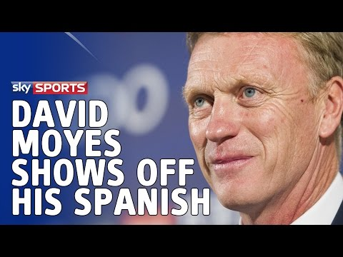 David Moyes shows off his Spanish during Real Sociedad press conference - 4th December 2014