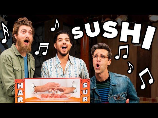 Mystery Box Singing Challenge Ft. Adam Lambert thumbnail