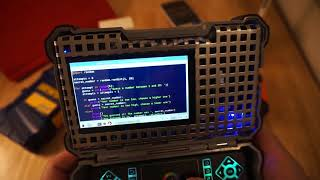 Raspberry Pi mini laptop