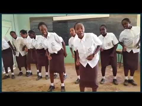 Kapropita girl's high school kula neno kdf dance challenge
