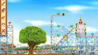 Rollercoaster Creator 2 walkthrough lvl 1-30
