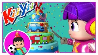 Happy Birthday | Little Baby Boogie | KiiYii | Nursery Rhymes For Babies