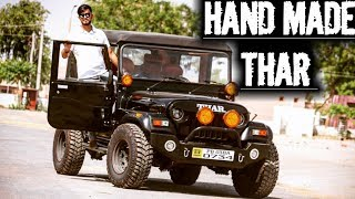 EX-ARMY MM 550 JEEP MODIFIED INTO MAHINDRA THAR | FULL CUSTOM JOB | HAND MADE THAR