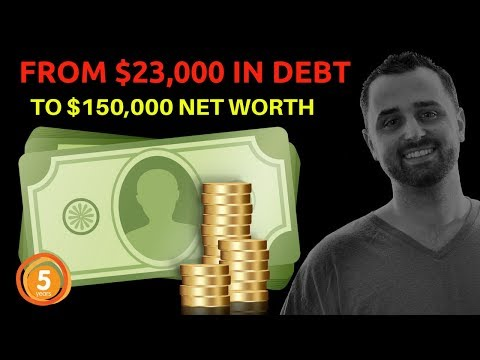 How I Went From $23K in Debt to $150,000 Net Worth in 5 Years
