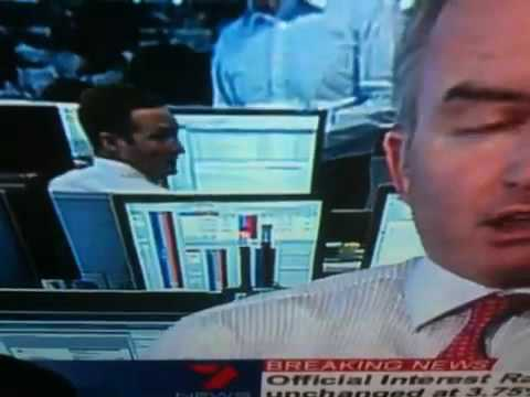 Banker Caught on National TV Looking at Porn
