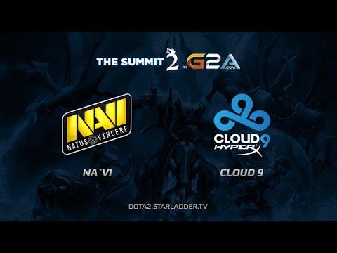 NaVi vs Cloud9 The Summit 2 Day 15 Game 6