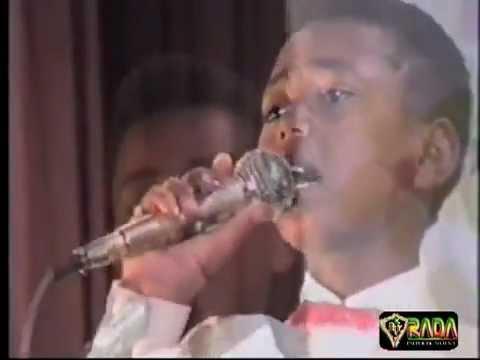 Enate Seteweldegn - Singing at 11 years old age