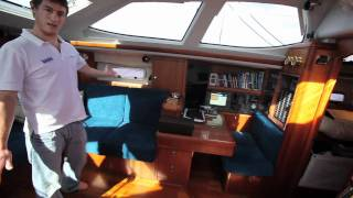 Oyster 575 interior video