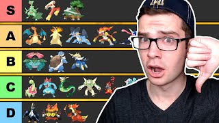 The *ULTIMATE* Pokemon Tier List
