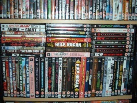 WWE DVD Blu Ray Pick Ups From F Y E 382014 YouTube