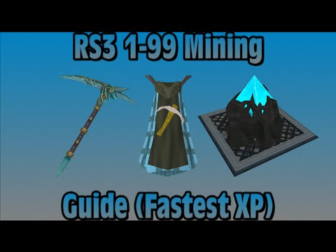 2015 RS3: 1 99 Mining Guide Fastest XP RuneScape