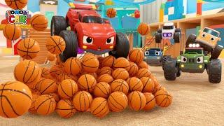 Download lagu Learn Sports ball names play   nursery rhyme Kids Songs for Kids Tomoncar World 토몬카