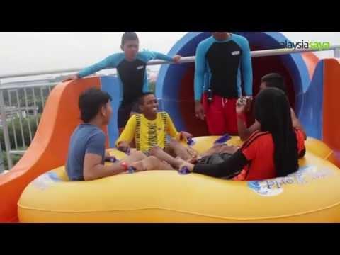 i-City Waterworld Shah Alam Selangor - Jom Mandi Manda