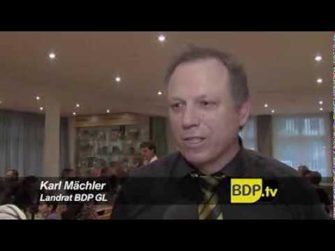 Rückblick seit der Gründung der BDP Glarus.