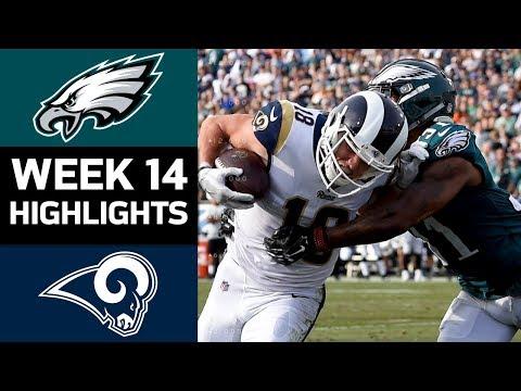 Eagles vs. Rams  NFL Week 14 Game Highlights
