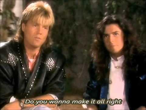 Modern Talking -  Do You Wanna with lyrics