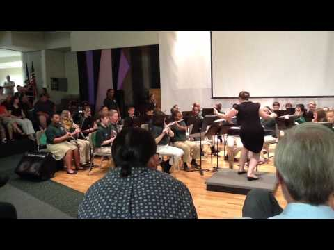 Louisa County Middle School Spring Band Concert 2012