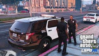 GTA 5 PC MODS - LSPDFR - POLICE SIMULATOR - EP 19 (NO COMMENTARY) CITY PATROL