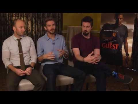 THE GUEST Interview - Dan Stevens, Adam Wingard & Simon Barrett