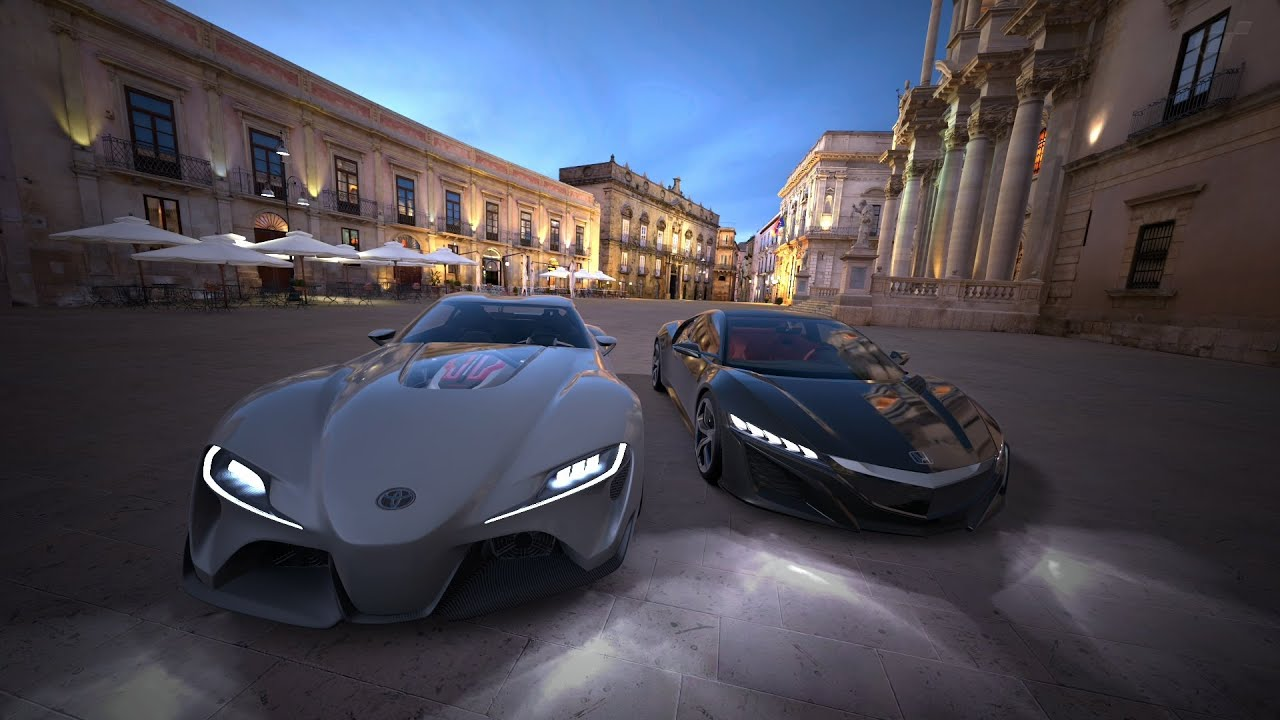 Gran Turismo 6 Toyota FT 1 VS Honda NSX '13 - YouTube