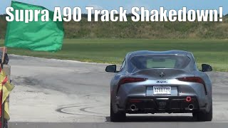 GR Supra A90 Track Shakedown TMP Cayuga! Project TA90 #2