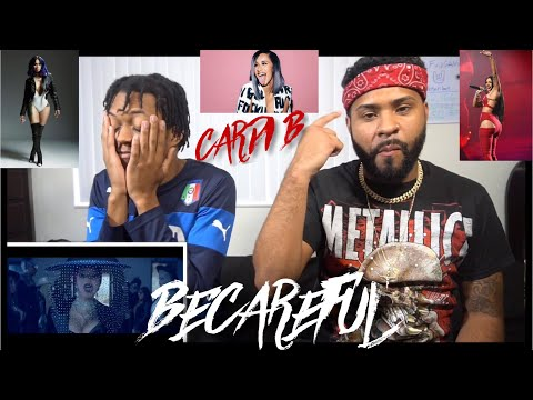 Cardi B - Be Careful [Official Video] | FVO REACTION