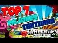 TOP 7 MEJORES TEXTURAS PARA MINECRAFT PE 1 2 Mejores Texturas Para Minecraft PE 1 1 0 9 mp3