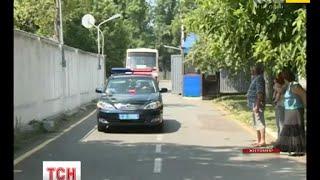 У Житомирі зустріли співробітників ДАІ, які повернулися додому зі служби на Донбасі - (видео)
